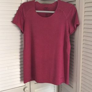 Tops - Patagonia Short Sleeve Athletic Active Tee Large
